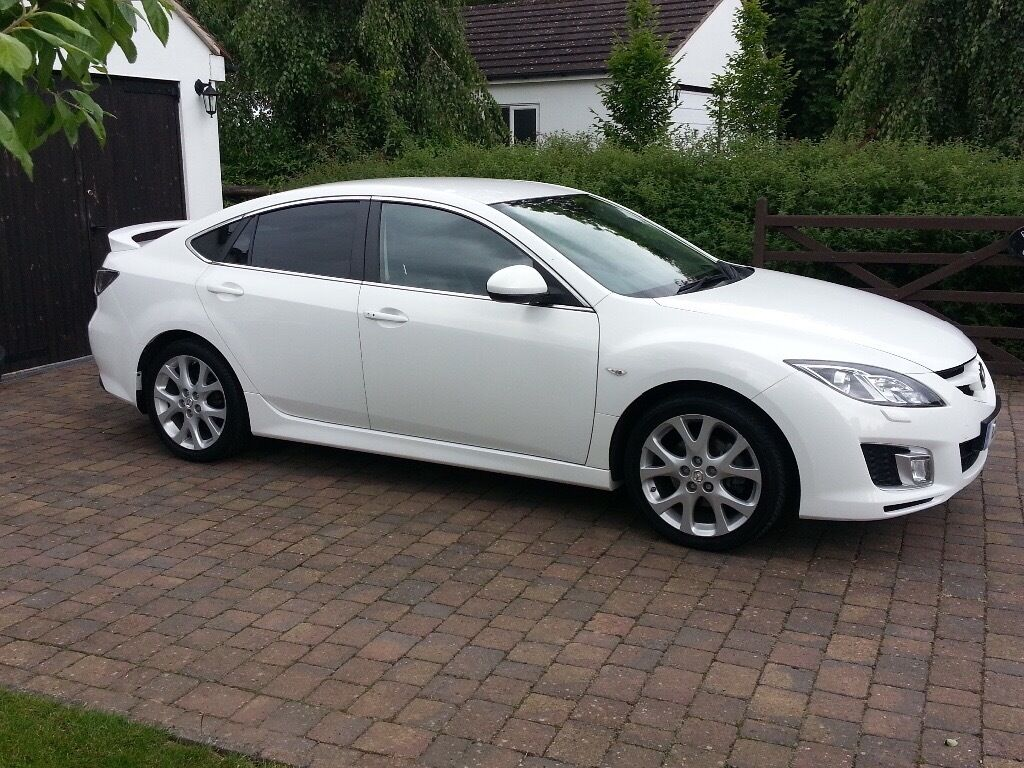 mazda 6 sport 2008 pearl white in droitwich. Black Bedroom Furniture Sets. Home Design Ideas