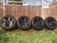 """For sale ! set of wheels Fox R6 17"""" good offer Chatham, Kent 140£"""
