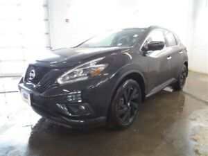 2018 Nissan Murano MIDNIGHT! Hot unit! Leather! Won't last!
