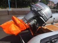 40h Mariner outboard (ex RNLI) 2 stroke
