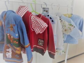 Age 18 months to 2 years Toddler Boy Spring Summer Bundle, 7 items - jumpers fleeces shirts