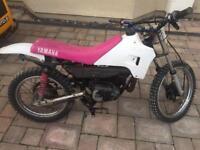 Yamaha motorbike