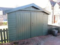 Sectional Wooden Garage/Shed measuring 4.8m x 3m
