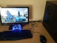 Custom Gaming PC Intel i5 2500k Quad Core 8gb Ram