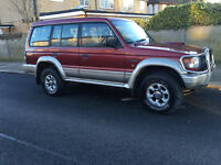 Mitsubishi shogun 2.8 intercooler low mileage