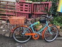 "Pashley tube rider vintage style Bike 5 gears 19 "" frame 26"" alloy wheels hub brakes"