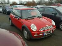2003 mini one very tidy cheap car