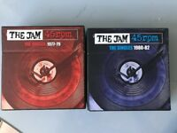2x The Jam Singles Collection Box Sets on CD