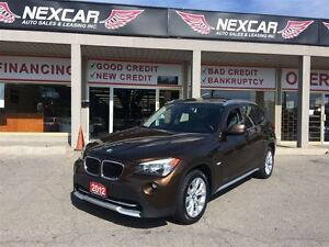 2012 BMW X1 AUT0 AWD LEATHER PANORAMIC ROOF 83K