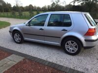 Volkswagen Golf 1.6 match full service history spares or repair