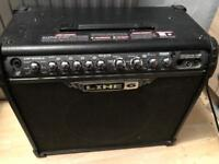 Line6 75watt spider 3 with foot pedal