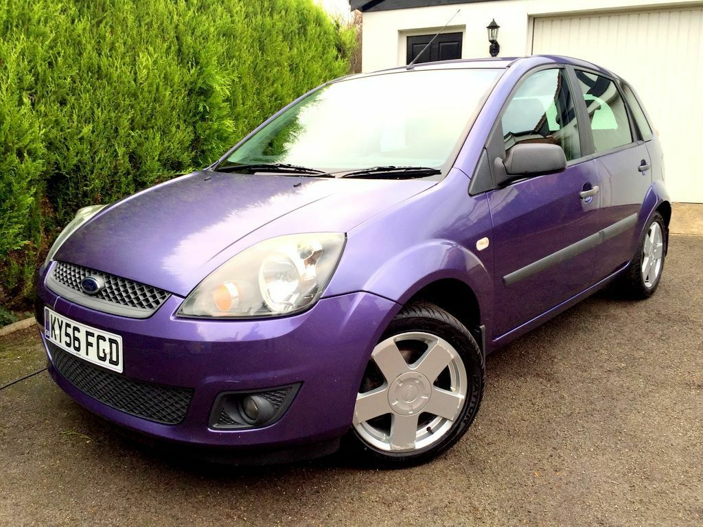 stunning 2006 ford fiesta zetec climate 1 4 tdci mauve. Black Bedroom Furniture Sets. Home Design Ideas