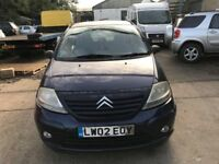 Cheap car of the day, 2002 Citroen C3, starts and drives, MOT until June 2018, car located in Graves