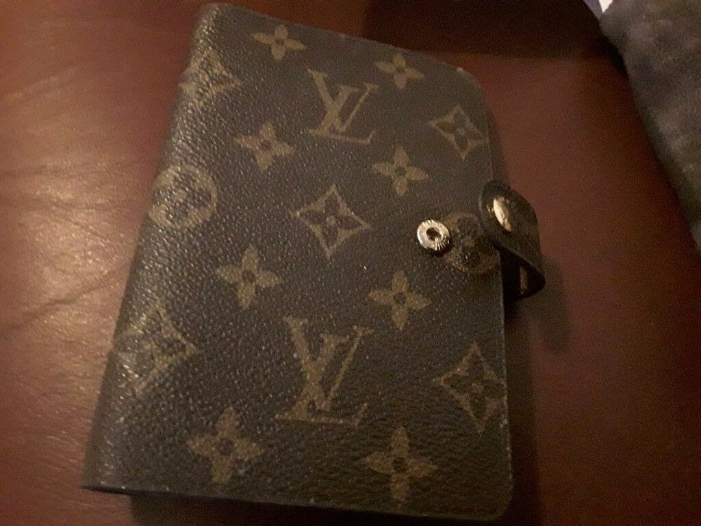 Loui vuitton notebook monogram