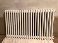 White column radiator