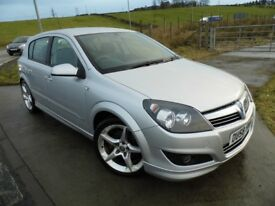 VAUXHALL ASTRA 1.9 SRI XP CDTI 5d 150 BHP 6 Month RAC Parts & Labour Warranty