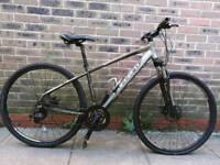 Adult carrera hybrid bike good condition