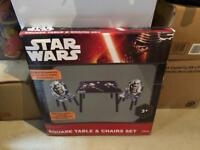 Star Wars Rebels child table and two chairs