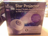 Science kidz star projector