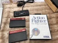 SEGA MASTER SYSTEM OFFICIAL CONTROLLER CONTROL PAD WITH 3 GAMES