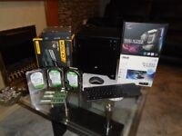 Assorted PC Parts; Motherboard, 3.5'' Drives, Mini Case- All Individually Priced or Bundle
