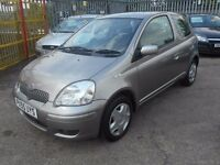 toyota yaris colour collection 1ltr 55 plate 71000 miles