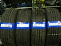205 55 17 MATCHING CONTINENTAL ECOCONATCT 5 7MM TREAD TYRES X2 £70 X4 £140 INC BAL & FIT OPEN 7 DAYS