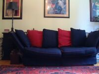 Classic Knole 3 Seater Sofa/Day Bed (Requires New Cover)
