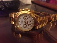 Rolex Daytona watch gold colour no box