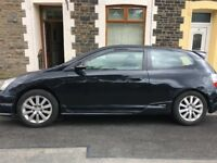 Honda Civic Sports with full 12 months MOT - Great runner
