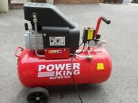 Power King Alpha 2hp 116psi 7.4cfm 50 Litre Portable Air Compressor
