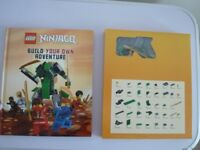 LEGO Ninjago Build Your Own Adventure New Hardcover Book Dk