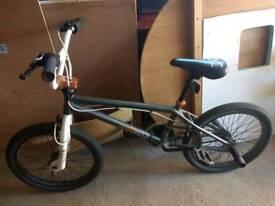 "Zinc Hustle BMX bike, 360 Giro brakes, 20"" wheels, used but very good condition"