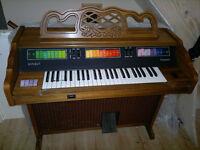 Kimball Caravan C3 eletric organ made in USA