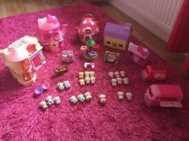 Huge hello kitty collection