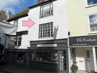 Dartmouth Town Centre Shop with 3 Bedroom Accommodation