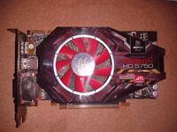 ATI Radeon 5750 Graphics Card 1GB - Perfect Working Order