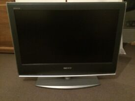 """Free Sony 26"""" LCD TV with Panasonic DVD player"""