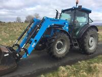 Landini tractor not (MF, John Deere, New Holland) with loader 100hp 2010 ONLY 500hrs from new!