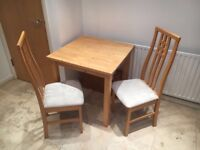 Free table and 2 x chairs