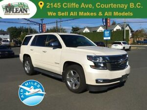 2015 Chevrolet Tahoe LTZ 4x4 Navigation Sunroof