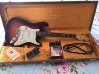 Fender 62 Hot Rod Stratocaster USA Electric Guitar American Vintage Reissue 56 59 65 60s Telecaster