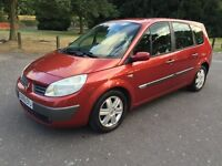 2005 Renault Grand Scenic 1.6 VVT Dynamique 5dr 7 Seater Family Car Hpi Cear @07445775115