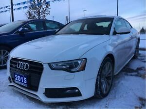 2015 Audi A5 *2.0T|S-Line|Leather|Sunroof