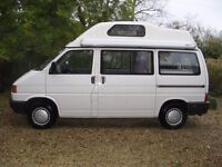 VW T4 Leisuredrive Hi-top Campervan