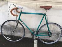 """Vintage Dawes Jaguar 531, Retro Road Bike, 25"""" frame, Eroica suitable."""