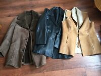 Selection of Ladies Leather and Sheepskin Jackets