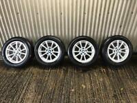 "Genuine 16"" BMW 3 Series Alloy Wheels - 5x120 - 316, 318, 320, F30, vivaro, traffic, primstar"
