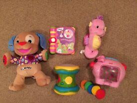 Toys Bundle FISHER PRICE ELC Vtech