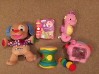 Toys Bundle FISHER PRICE ELC Vtech